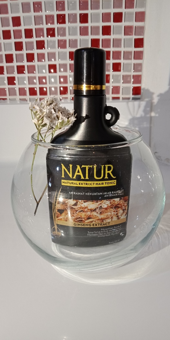 Natur Hair Tonic Ginseng Extract