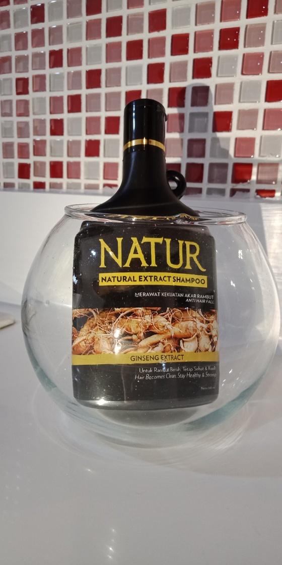 Shampoo Natur Ginseng Extract