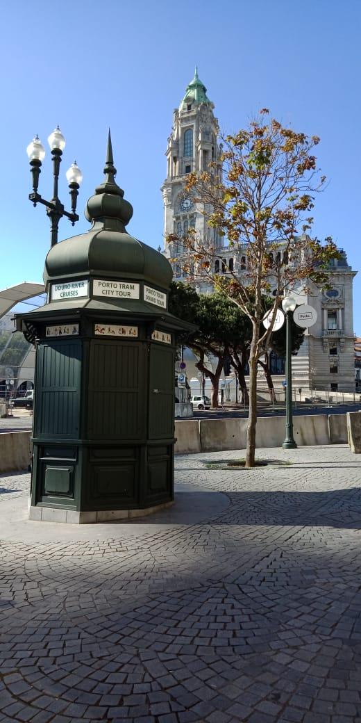 Blue Sky in Porto