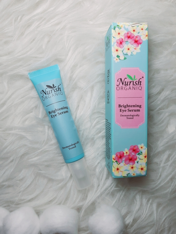 NURISH ORGANIQ  Brightening Eye Serum