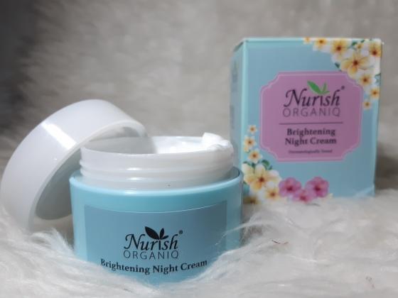 NURISH ORGANIQ Beightening Night Cream